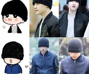 k pop, kyungsoo, and exo k image