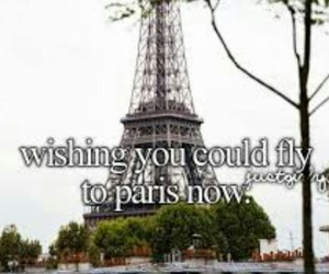 paris, fly, and wish image