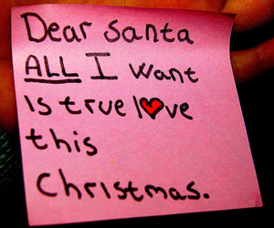 christmas, true love, and heart image