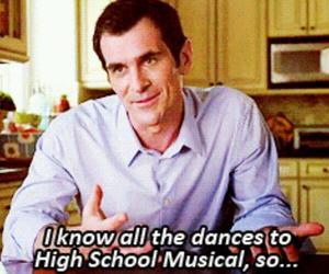 funny, high school musical, and modern family image