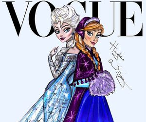 frozen, vogue, and disney image
