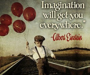 quote, imagination, and logic image