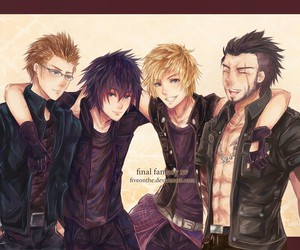 final fantasy xv, ignis, and gladiolus image
