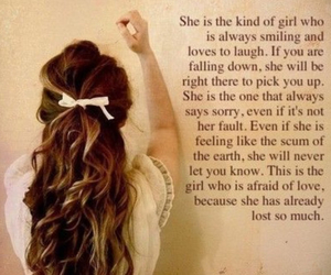 everything, girl, and quotes image