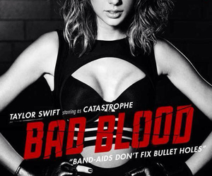 Taylor Swift, bad blood, and 1989 image