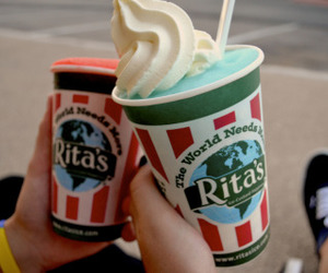 cream, food, and ice image