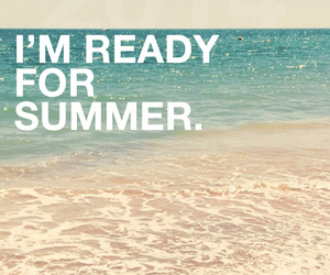 summer, beach, and wallpaper image