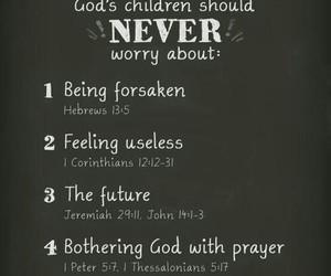 god, jesus, and faith image