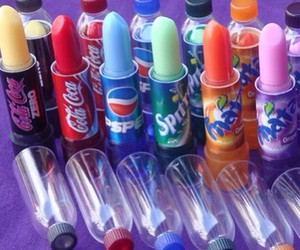 lipstick and soda image