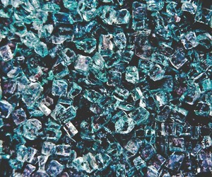 blue, ice, and grunge image