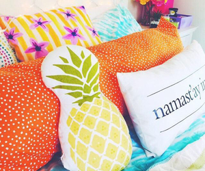 pillow, tumblr, and pineapple image