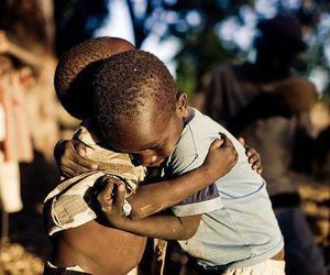 love, kids, and hug image