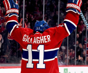 canadian, hockey, and brendan gallagher image