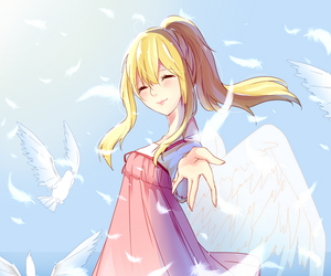 shigatsu wa kimi no uso and angel image