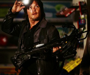 norman reedus, daryl dixon, and the walking dead image