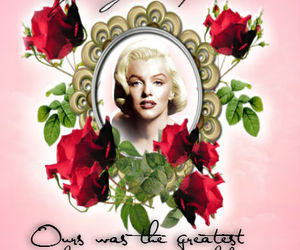 grunge, Marilyn Monroe, and quote image