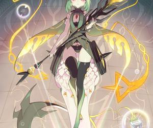 anime, mega, and pokemon image
