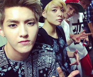 kris, exo, and amber image