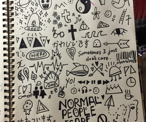 art, boring, and doodles image