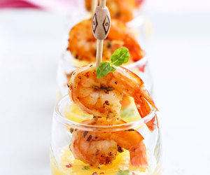 mango, shrimp, and tapas image