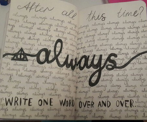 always and wreck this journal image