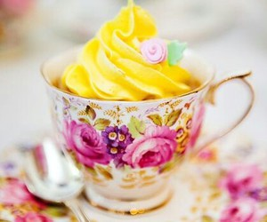flowers, food, and sweet image