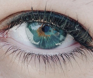 eye and turquoise image