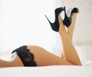 ass, black, and legs image