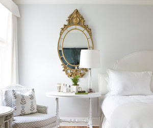 decor, mirror, and white image