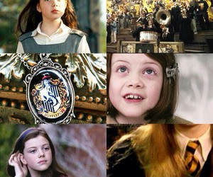 georgie henley, harry potter, and lucy pevensie image