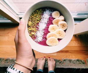 banana, berry, and breakfast image