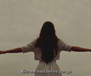 lana del rey, summertime sadness, and kiss image