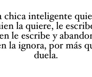 amor, Chica, and inteligente image