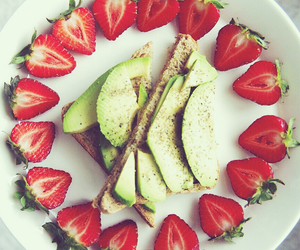 beautiful, breakfast, and fitness image