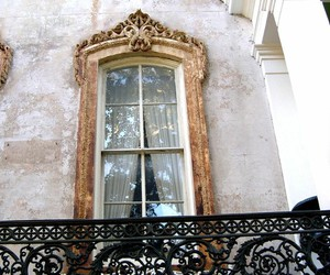 balcony, window, and architecture image