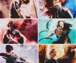 jace, clary, and simon image
