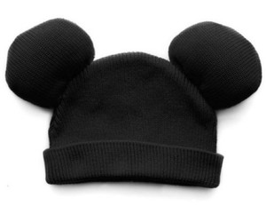 mickey mouse, hat, and black image