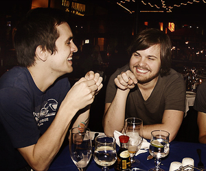 brendon urie, spencer smith, and panic! at the disco image