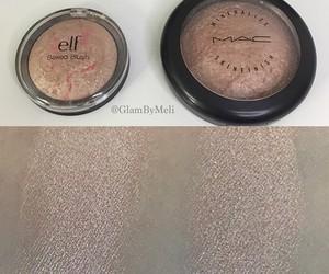 highlighter, make up, and makeup image
