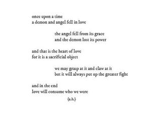 poem, angel, and love image