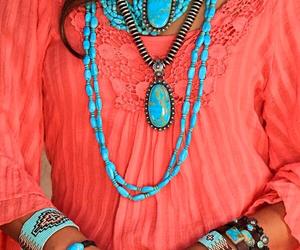 beautiful, dress, and turquoise image
