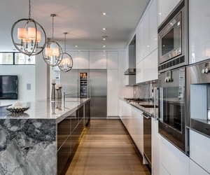 kitchen, house, and home image
