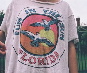 florida, t-shirt, and vintage image