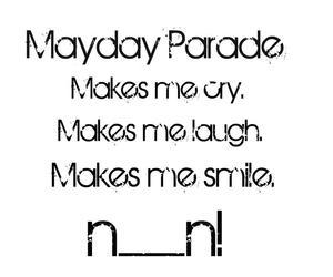 cry, laugh, and mayday parade image