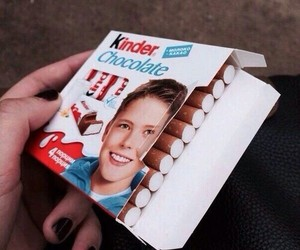 cigarette, kinder, and smoke image
