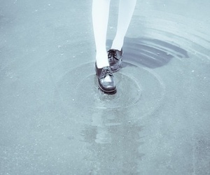 water and shoes image