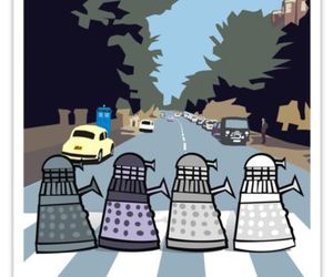 doctor who and the beatles image