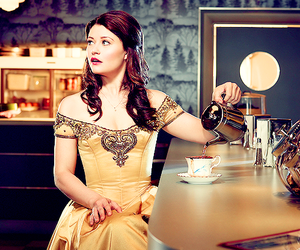 belle and once upon a time image