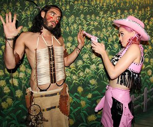 katy perry and russel brand image