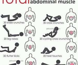 abs, body, and fitness image
